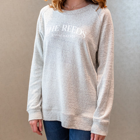 Women's Poodle Fleece Sweatshirt