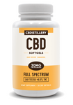 Full Spectrum CBD Infused Softgels – 30mg – 30 Count