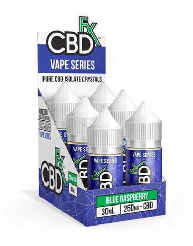 Blue Raspberry – CBD Vape Juice -250mg
