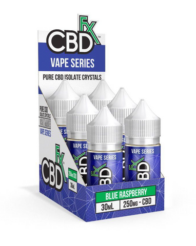 Blue Raspberry – CBD Vape Juice -500mg