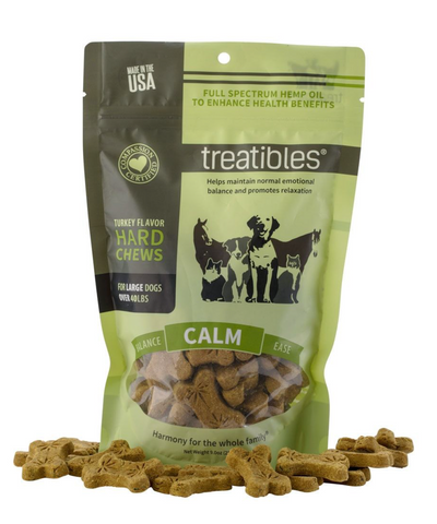 Calm (Turkey Flavor) Hard Chews – Large Canine - (45ct)