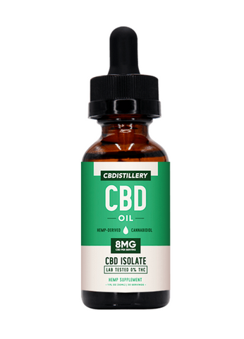 THC Free Pure CBD Oil Tincture – 250mg – 30ml