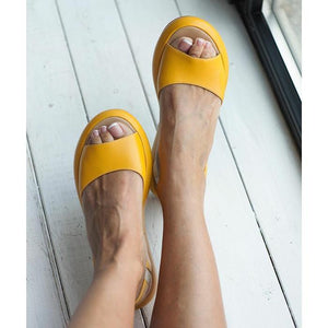 2019 Women Leather Sandals