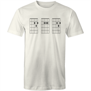 Guitar Chord DAD - Mens Regular T-Shirt