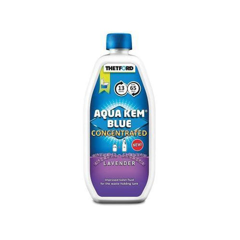 aqua kem blue lavender concentrated 780ml