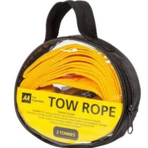 AA tow rope- 2 tonnes