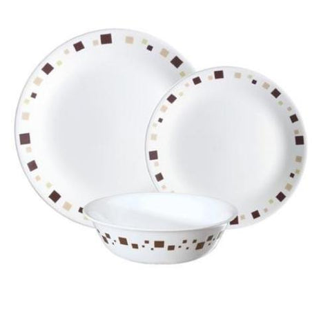 Corelle Geometric 12pc Dinner Set