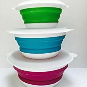Kampa Compact Collapsible Bowl Set