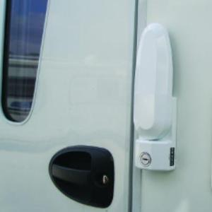 Inside and Outside Operating Security Door Lock