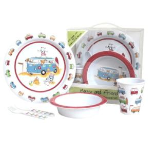 Harry & Friends Childrens Melamine Set