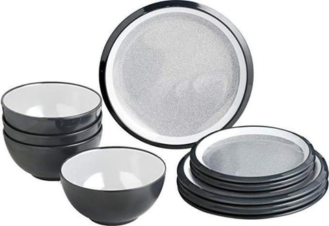 brunner midday high quality melamineware 12 pc