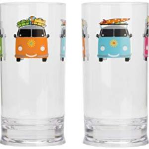 Flamefields Camper Smiles 2 pk tall tumblers 17oz