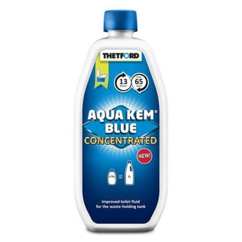aqua kem blue concentrated 780 ml