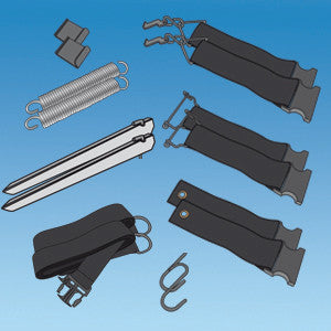 Unica Universal Tie Down Kit