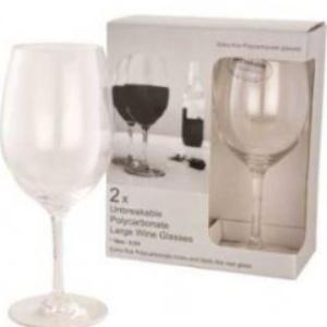 Polycarbonate Wine Glass Large (2)