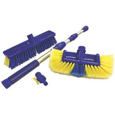 Blaster Brush & Broom Set - High Pressure Telescopic Brush
