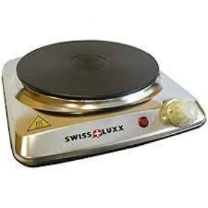 Swiss-luxx low wattage stainless steel single hot plate