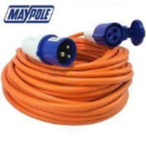 Maypole 25m caravan site extension lead