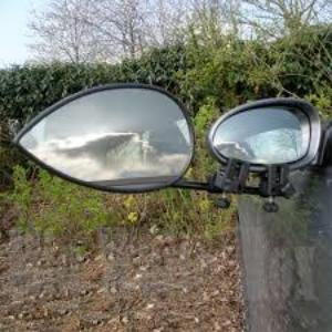 Milenco  Aero 3 towing mirrors - flat