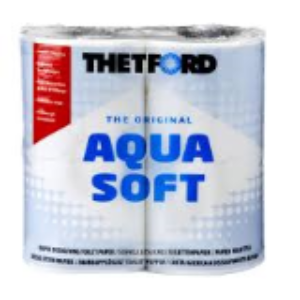 Thetford Aqua Soft Toilet Roll - 4 Pack