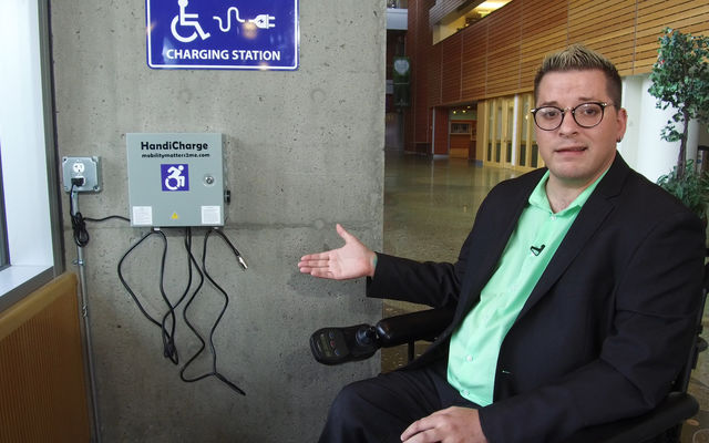 The City of Bellevue Installs Wheelchair Charging Stations
