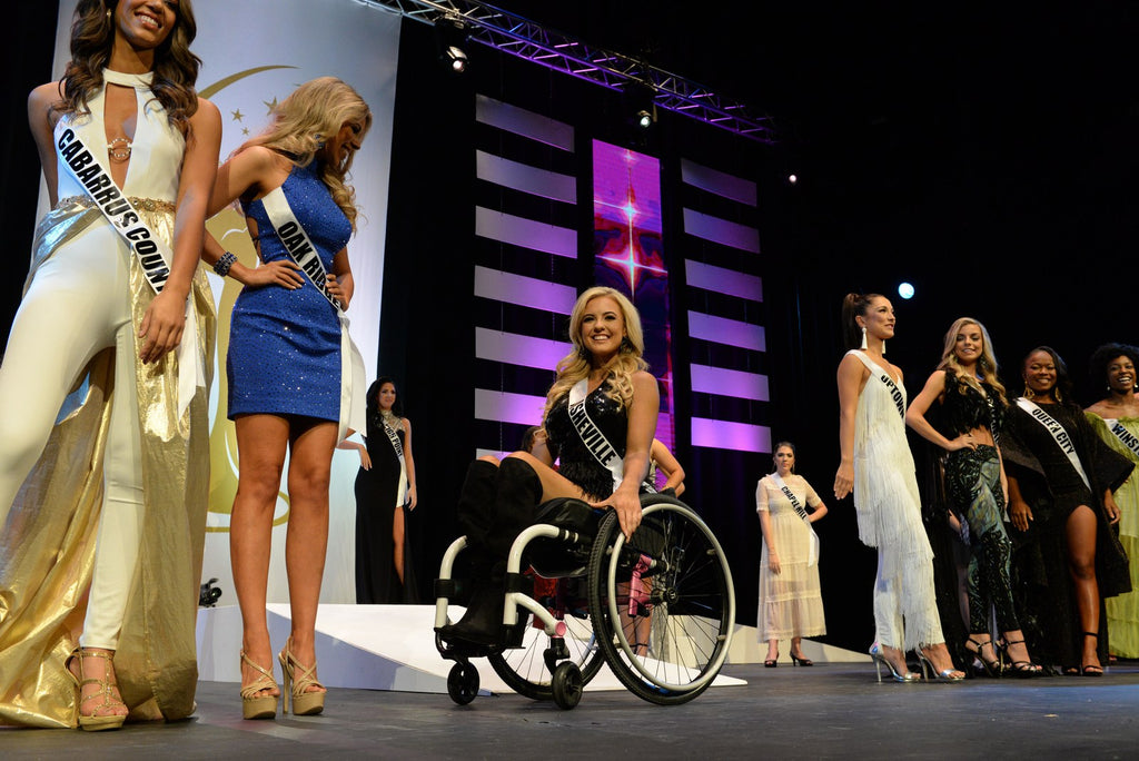 First Woman in a Wheelchair to Compete at Miss USA