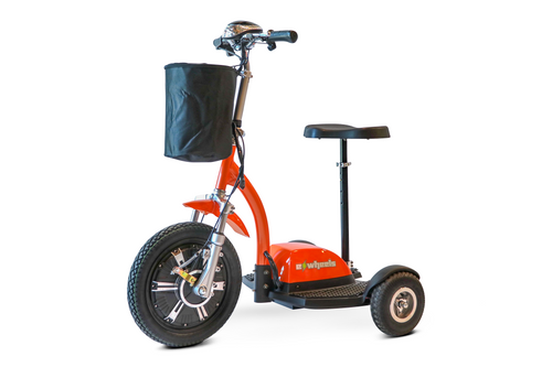 EWheels EW-18 Turbo Orange Stand-N-Ride Scooter