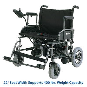 Merits Health Travel-Ease Folding Power Chair