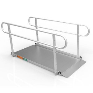 EZ-Access GATEWAY™ 3G Ramp with Two-Line Handrails