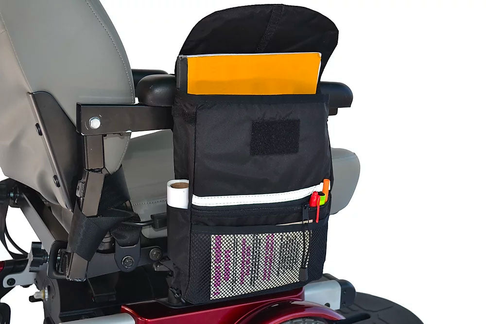 Large Saddle Bag for Wheelchairs and Scooters
