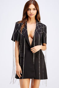 Dancing Diamonds blazer dress