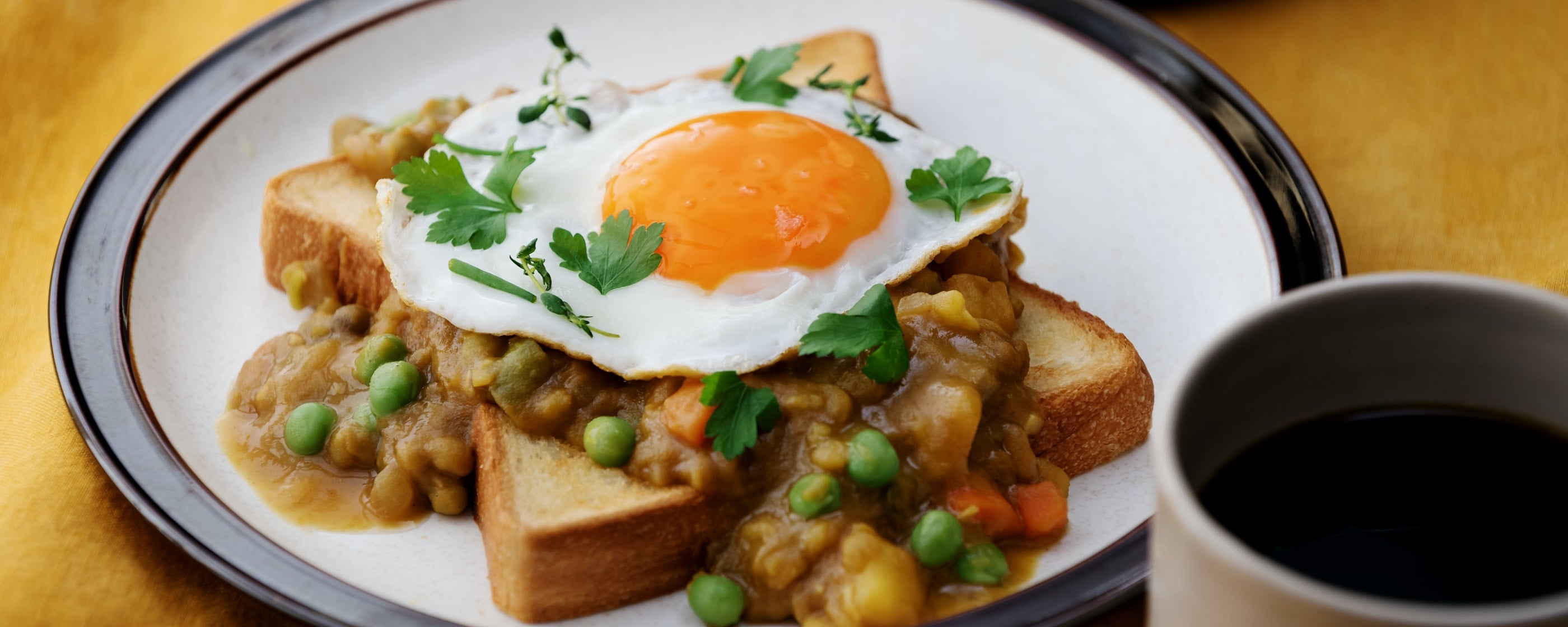 Breakfast Curry Toast