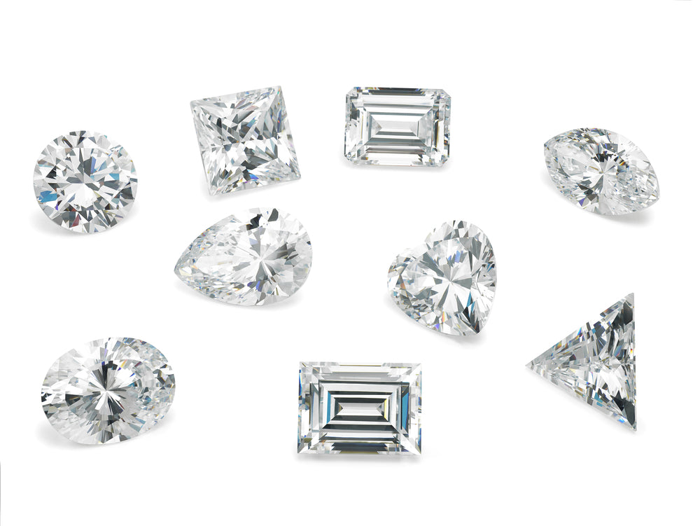 The most popular diamond shapes in the market