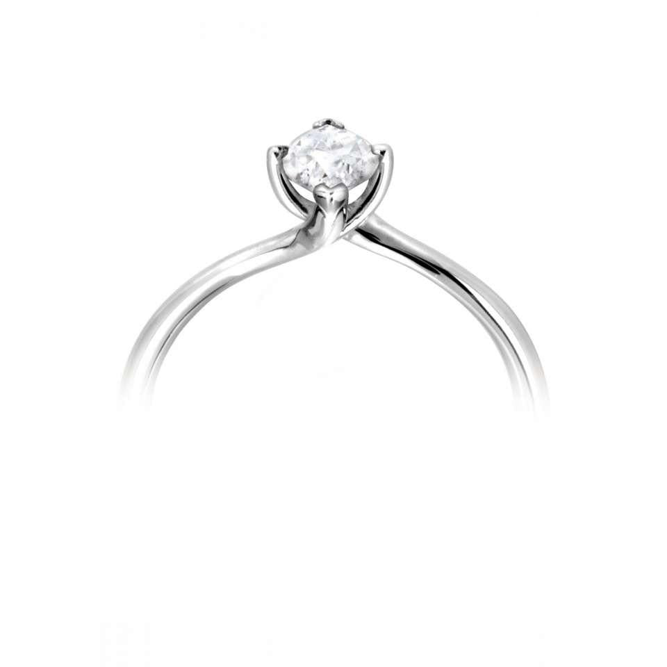 twist marquise solitaire with curved plain shoulders.-Silk Road Diamonds