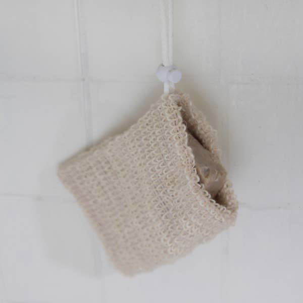 Exfoliating Sisal Soap Saver Bag