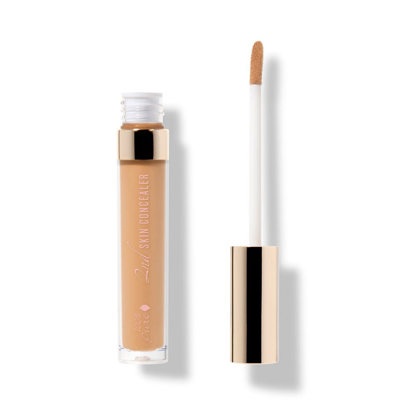 2nd skin concealer by 100% Pure with applicator wand. #reapandsowapproved at Reap & Sow Lifestyle Apothecary. Oceanside, CA.