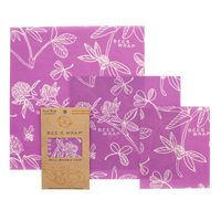 Beeswax Food Wrap Assorted Sizes 3 Pack