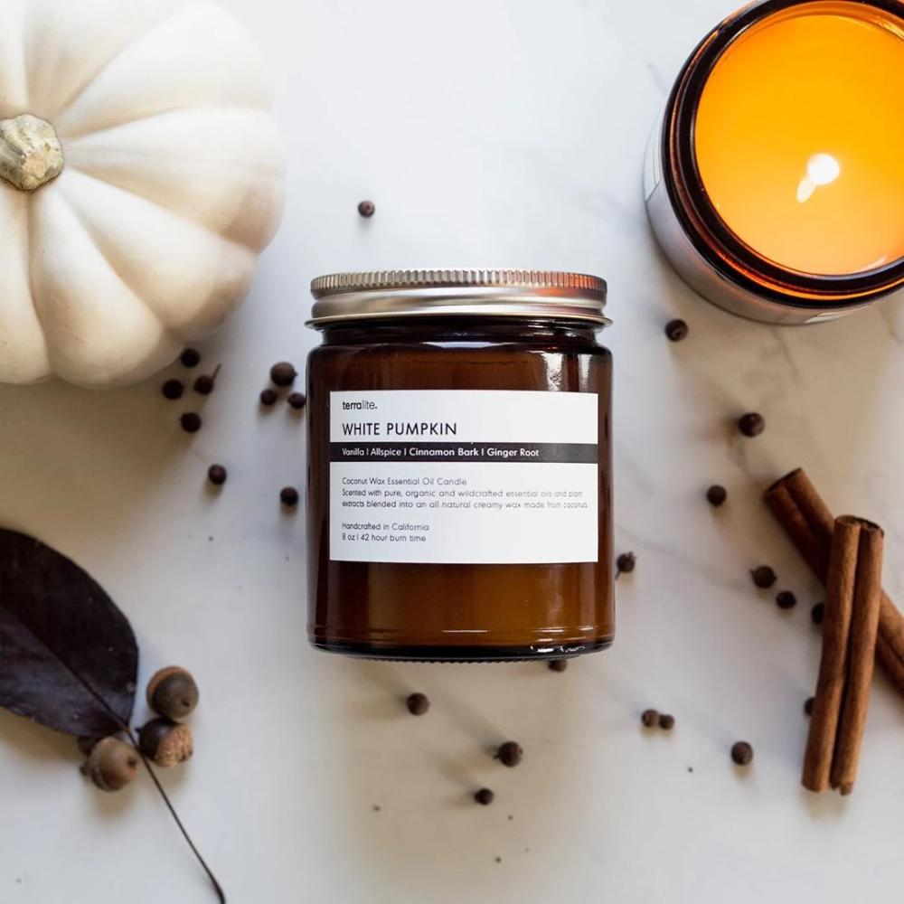 White Pumpkin Plant-Based, Non-Toxic Luxe Candle