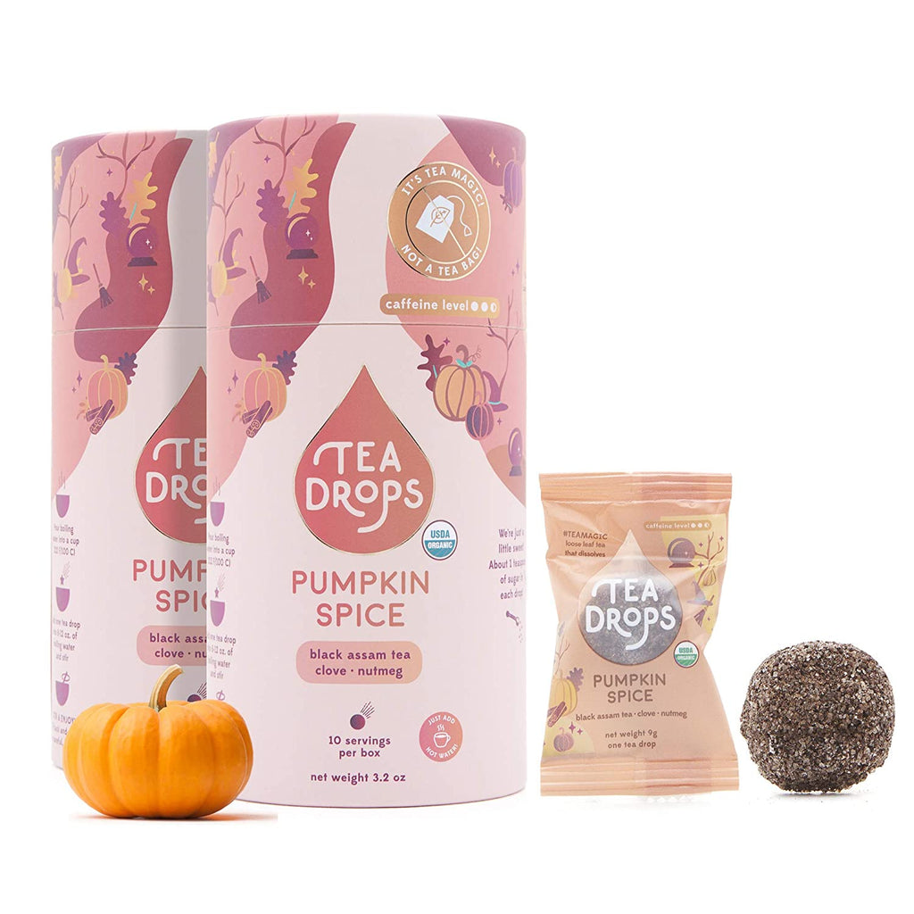 Pumpkin Spice Tea Drops