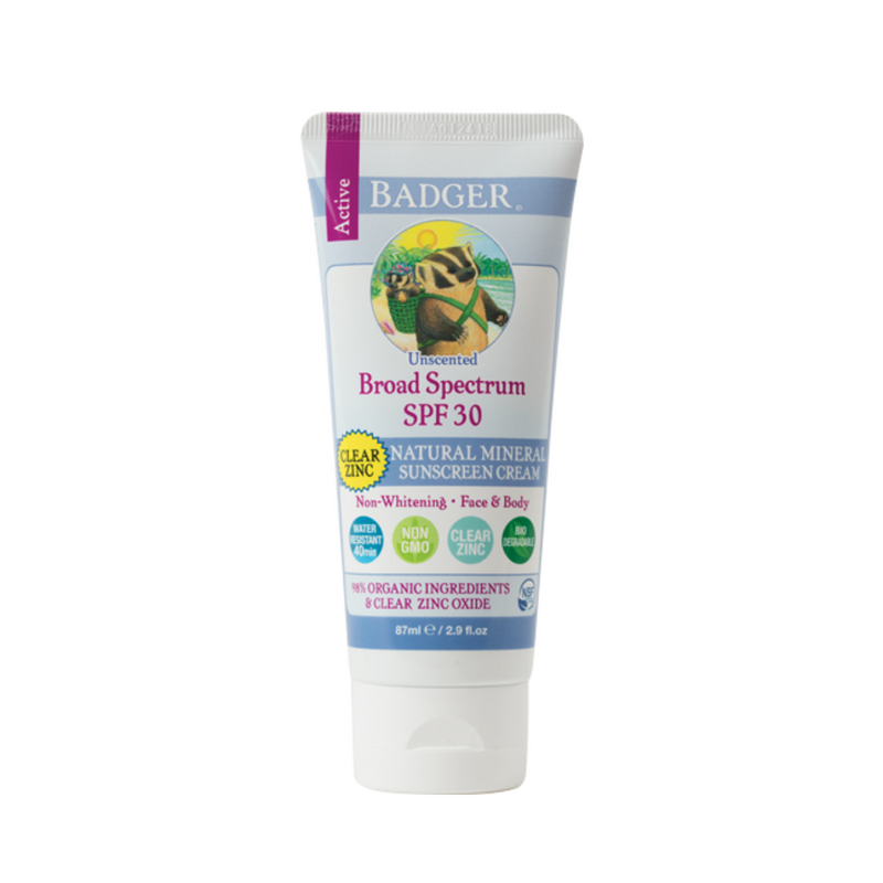 ACTIVE Clear Zinc Sunscreen SPF 30