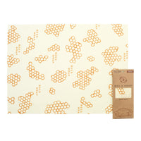Bees Wrap reusable food wrap for Bread  replaces plastic and keeps food fresh. Its eco-friendly, zero waste, compostable.
