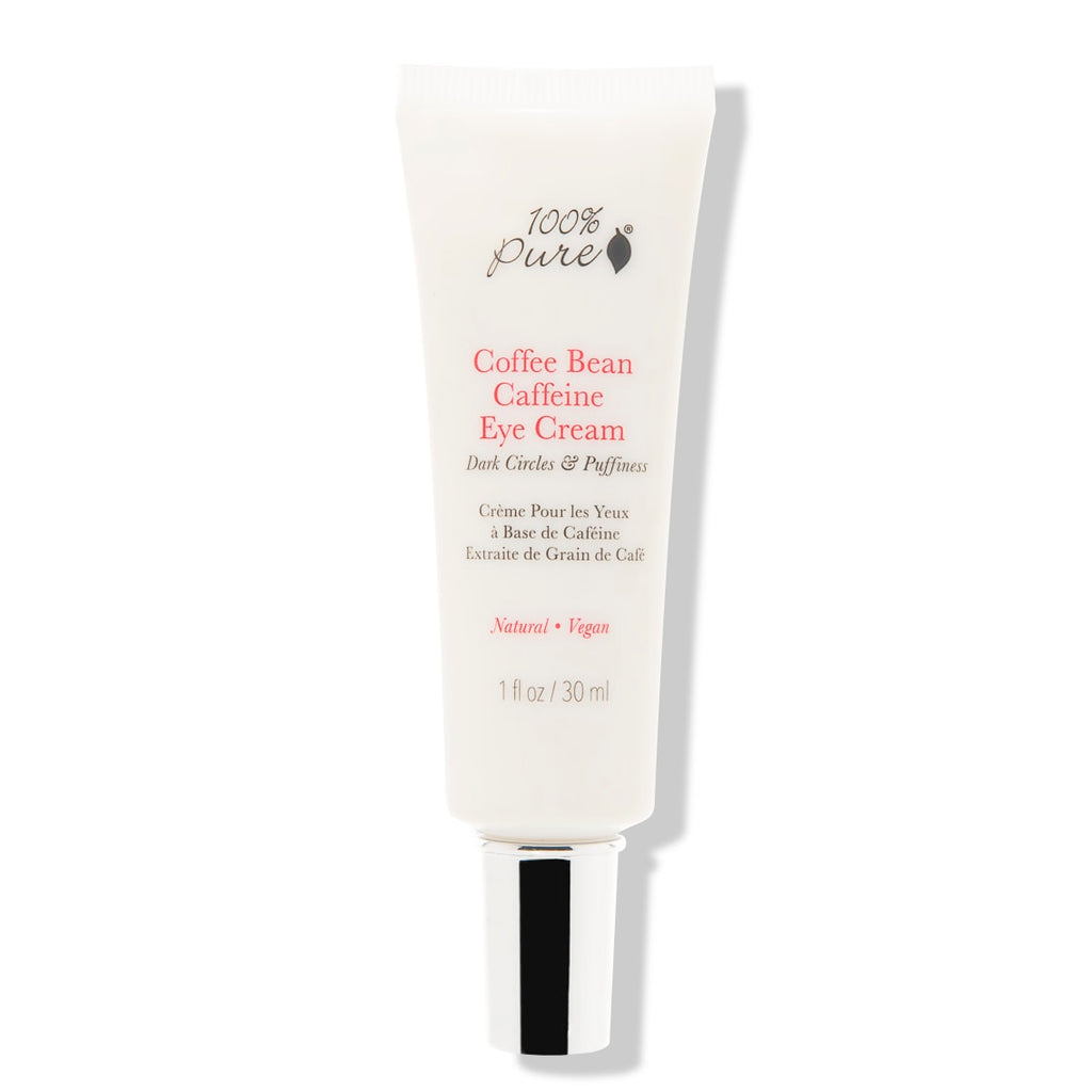 Coffee Bean Caffeine Eye Cream to reduce puffiness & dark circles. Vegan. Cruelty-Free. Shop Reap & Sow Oceanside, CA