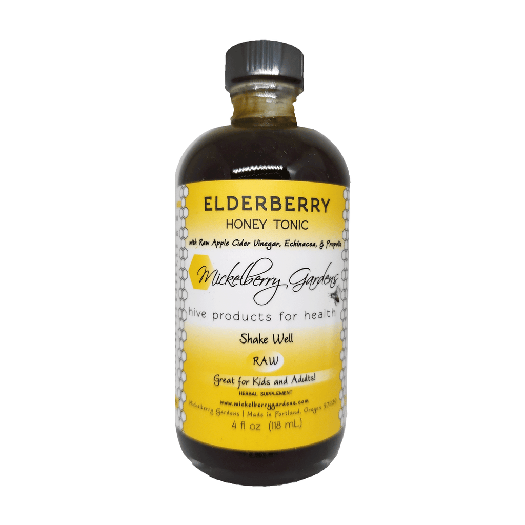 Elderberry Honey Tonic