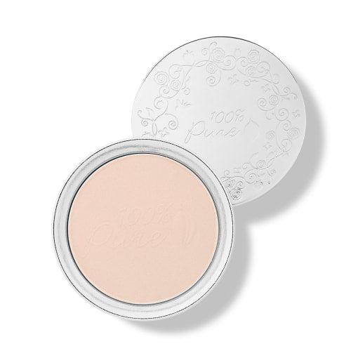 Talc-free powder foundation absorbs oil and reduces shine with mattifying rice powder, while nourishing skin with antioxidant-rich fruit pigments in beautiful compact
