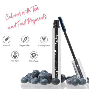 100% Pure Ultra Lengthening Mascara Colored with Tea and Fruit Pigments. Natural. Vegetarian, Cruelty-Free, Non-Toxic, Palm Free
