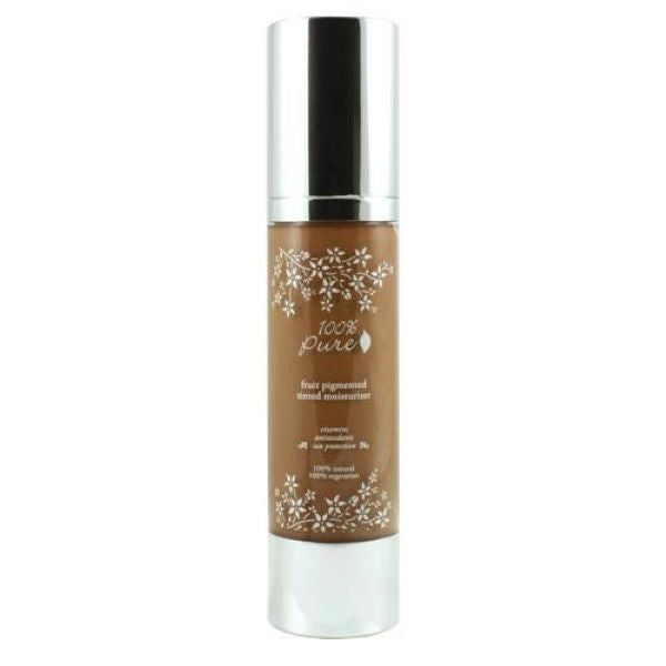 Tan dark with warm undertone, Mousse, Fruit Pigmented Tinted Moisturizer, ultra lightweight tinted moisturizer formula leaves skin with a dewy, hydrated glow
