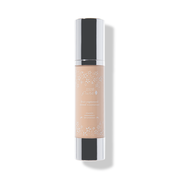 Light with warm undertone, White Peach, Fruit Pigmented Tinted Moisturizer, ultra lightweight tinted moisturizer formula leaves skin with a dewy, hydrated glow