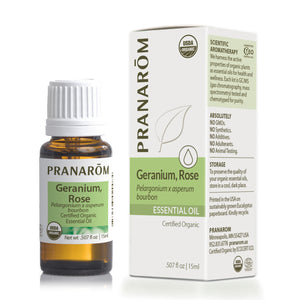 Geranium, Rose Essential Oil (2 sizes)