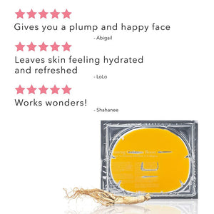 5-Star reviews for Ginseng Collagen Boost Mask. Gives you a plump and happy face - Abigail. Leaves Skin feeling hydrated and refreshed - Lolo Works wonders - shahanee