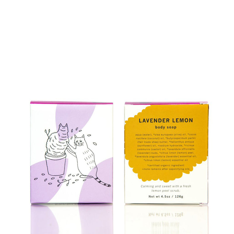 Lavender Lemon Body Soap